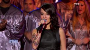 Alizée dans Samedi Soir On Chante Goldman - 19/01/13 - 03