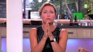 Anne-Sophie Lapix dans C à Vous - 16/09/14 - 06
