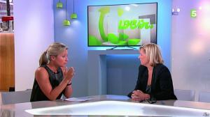 Anne-Sophie Lapix dans C à Vous - 16/09/14 - 09