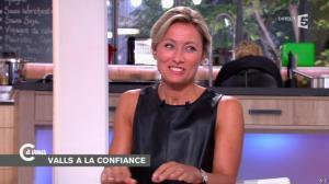 Anne-Sophie Lapix dans C à Vous - 16/09/14 - 31