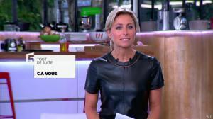 Anne-Sophie Lapix dans C à Vous - 21/05/14 - 008