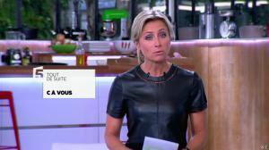 Anne-Sophie Lapix dans C à Vous - 21/05/14 - 009