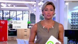 Anne-Sophie Lapix dans C à Vous - 26/09/14 - 01