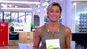 Anne-Sophie Lapix dans C à Vous - 26/09/14 - 02