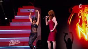 Carmen Maria Vega et Elodie Frégé dans Hier Encore - 27/09/14 - 04