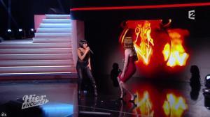 Carmen Maria Vega et Elodie Frégé dans Hier Encore - 27/09/14 - 07