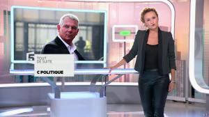 Caroline Roux dans C Politique - 19/10/14 - 004