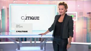Caroline Roux dans C Politique - 19/10/14 - 007