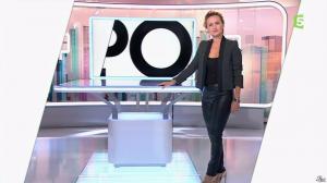 Caroline Roux dans C Politique - 19/10/14 - 009
