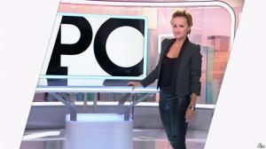 Caroline Roux dans C Politique - 19/10/14 - 013