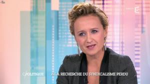 Caroline Roux dans C Politique - 19/10/14 - 020