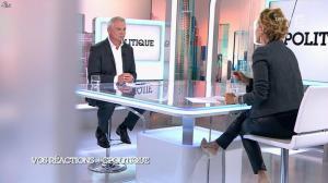 Caroline Roux dans C Politique - 19/10/14 - 023