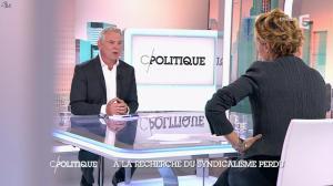 Caroline Roux dans C Politique - 19/10/14 - 026