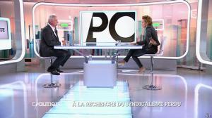 Caroline Roux dans C Politique - 19/10/14 - 029