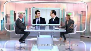 Caroline Roux dans C Politique - 19/10/14 - 033