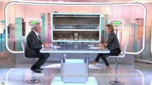 Caroline Roux dans C Politique - 19/10/14 - 040