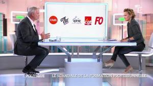 Caroline Roux dans C Politique - 19/10/14 - 042