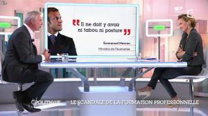 Caroline Roux dans C Politique - 19/10/14 - 054