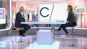 Caroline Roux dans C Politique - 19/10/14 - 060