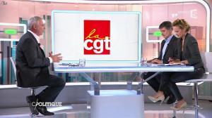Caroline Roux dans C Politique - 19/10/14 - 077