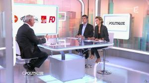 Caroline Roux dans C Politique - 19/10/14 - 078