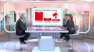Caroline Roux dans C Politique - 19/10/14 - 080
