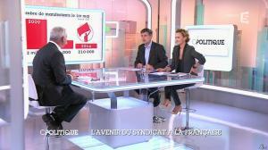 Caroline Roux dans C Politique - 19/10/14 - 083