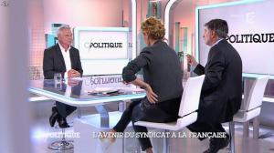 Caroline Roux dans C Politique - 19/10/14 - 084