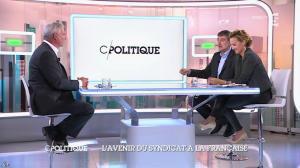 Caroline Roux dans C Politique - 19/10/14 - 093