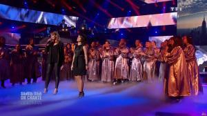 Chimène Badi et Alizée dans Samedi Soir On Chante Goldman - 19/01/13 - 05