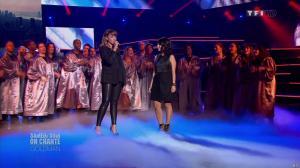 Chimène Badi et Alizée dans Samedi Soir On Chante Goldman - 19/01/13 - 06