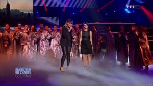 Chimène Badi et Alizée dans Samedi Soir On Chante Goldman - 19/01/13 - 14
