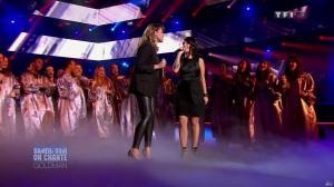 Chimène Badi et Alizée dans Samedi Soir On Chante Goldman - 19/01/13 - 15
