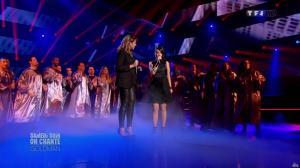 Chimène Badi et Alizée dans Samedi Soir On Chante Goldman - 19/01/13 - 19