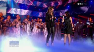 Chimène Badi et Alizée dans Samedi Soir On Chante Goldman - 19/01/13 - 22