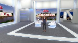 Estelle Denis dans Euro Million - 19/09/14 - 05