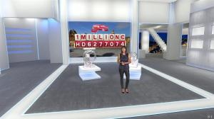 Estelle Denis dans Euro Million - 19/09/14 - 06
