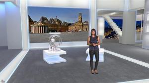 Estelle Denis dans Euro Million - 19/09/14 - 08