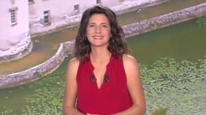 Estelle Denis lors du Tirage du Loto - 05/11/14 - 01