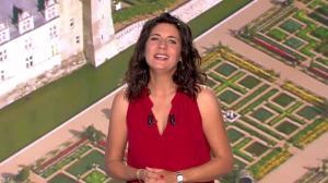 Estelle Denis lors du Tirage du Loto - 05/11/14 - 10