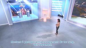 Estelle Denis lors du Tirage du Loto - 06/10/14 - 03