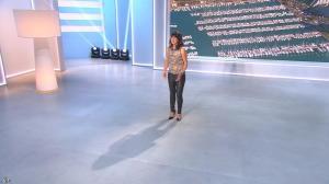 Estelle Denis lors du Tirage du Loto - 06/10/14 - 04