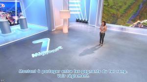 Estelle Denis lors du Tirage du Loto - 06/10/14 - 09