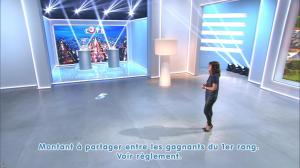 Estelle Denis lors du Tirage du Loto - 08/11/14 - 04
