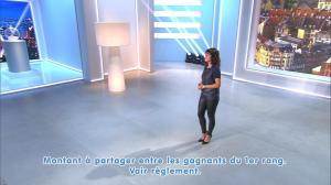 Estelle Denis lors du Tirage du Loto - 08/11/14 - 07