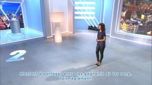 Estelle Denis lors du Tirage du Loto - 08/11/14 - 08