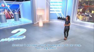 Estelle Denis lors du Tirage du Loto - 08/11/14 - 09