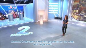 Estelle Denis lors du Tirage du Loto - 08/11/14 - 10