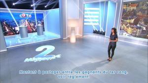 Estelle Denis lors du Tirage du Loto - 08/11/14 - 11