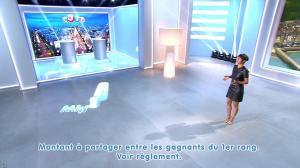 Estelle Denis lors du Tirage du Loto - 18/10/14 - 05